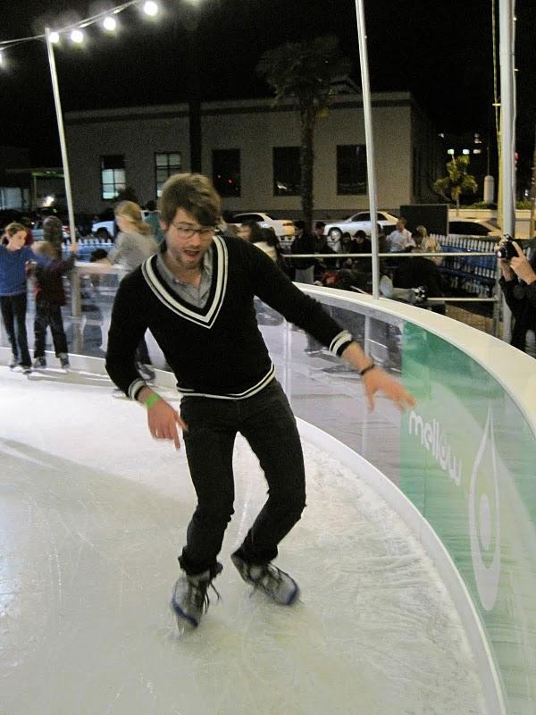 achteruit schaatsen