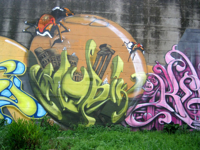 graffiti tekenen