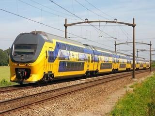 met de trein reizen