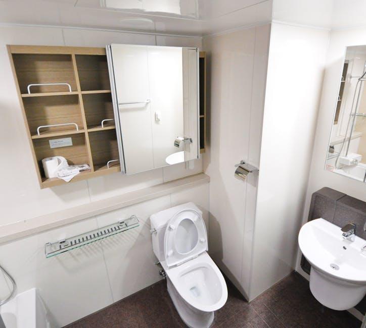 een wc-bril meten